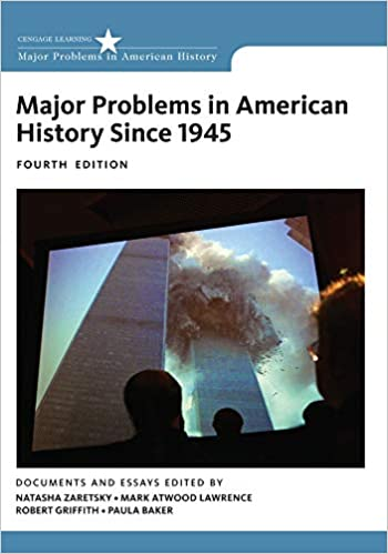 Image result for Major Problems in American History Since 1945. 4th Edition