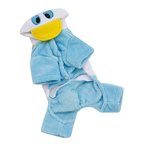 [2015 Donald Duck Dog Clothes the Spring and Autumn Clothes the New Pet Clothes (Xl)] (Duck Costumes For Dog)
