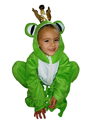 Fantasy World Frog King Halloween Costume f. Toddlers, Size: 3t, Sy12 - Crazy Masks For Sale