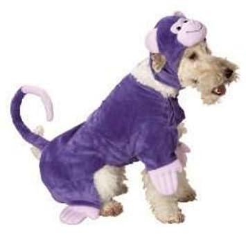 Monkey Dog Costume Purple Monkey Suit for Pets Medium  sc 1 st  Amazon UK & Monkey Dog Costume Purple Monkey Suit for Pets Medium: Amazon.co.uk ...