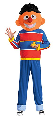 [Ernie Costume - X-Large - Chest Size 42-46] (Ernie From Sesame Street Costume)