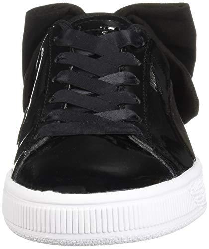 wholesale dealer 012ce 1fc31 Bow Pelle Sneakers Nero Donna Sb Basket Puma qXxnI0aET