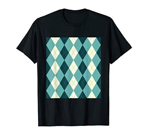 Argyle Shirt Rockabilly 1950s Vintage Style Clothing TShirt ()