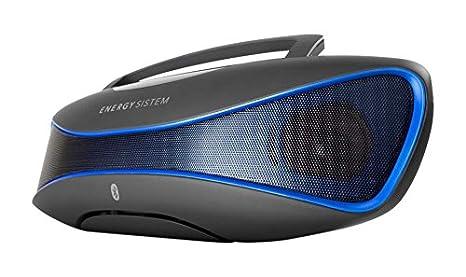 Energy Sistem Music Box BZ6 - Altavoz con Bluetooth y Display retroiluminado (2.1 estéreo portátil, 12 W de Potencia Real, Bluetooth 4.0, Lector ...