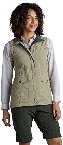 ExOfficio Women's Sol Cool FlyQ Travel Vest, Tawny, Medium ()