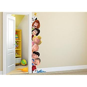 Peanuts Peek-A-Boo Wall Decal  sc 1 st  Amazon.com & Amazon.com: Peanuts Peek-A-Boo Wall Decal: Home u0026 Kitchen