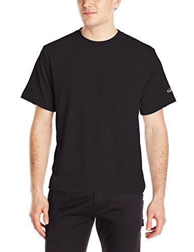 Arborwear Men's Short Sleeve Tech T-Shirt, Black, Large ()