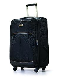 Calvin Klein Nolita 2.0 25-Inch Upright Suitcase, Noir, One Size