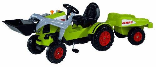 BIG 800056553 - CLAAS Celtis Loader + Trailer Kindertraktor