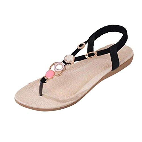 S&H-NEEDRA Sommer Mode Sandalen Gummiband Casual Sandalen Komfort Sandalen