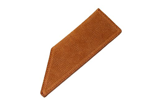 Comb Case - AUGUST GROOMING Soft Suede Case for Luxury Comb (Pocket, Tan Suede)