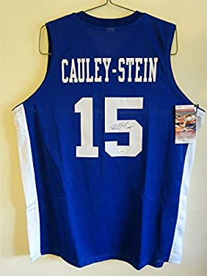 Willie Cauley Stein Signed Auto Kentucky Wildcats Blue Jersey Jsa Autographed