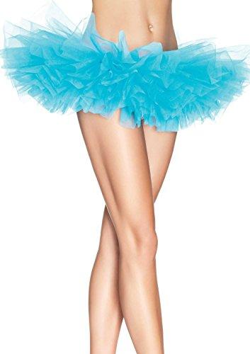 - Leg Avenue Women's Organza Tutu, Turquoise, One Size