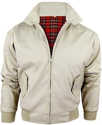 Mountain Pass Men's Vintage Harrington British Made Harrington Jacket Medium Beige