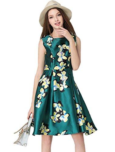 MatchLife - Vestido - vestido - para mujer Green 4