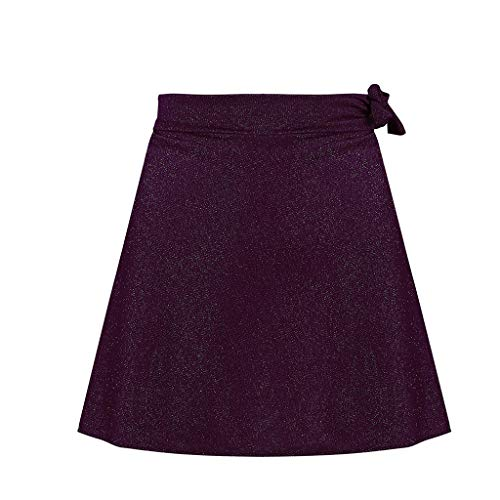 Lavany  Women's Skirts Sexy No See-Through A-Line Club Evening Party Mini Skirt Purple by Lavany  (Image #1)