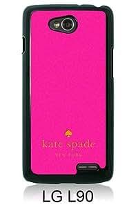 customized LG L90 Case Cover, Fashion Stylish DIY Kate Spade 47 Black Case Cover For LG L90