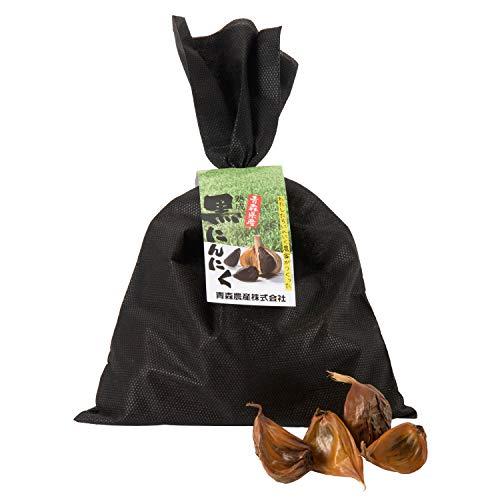 戸来黒にんにく [自社栽培 青森県産にんにく] 福地ホワイト6片種 無添加 (200g 約1か月分) 熟成黒にんにく