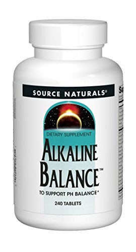 SOURCE NATURALS Alkaline Balance Tablet, 240 Count