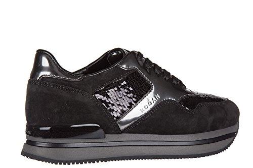 Hogan Damenschuhe Turnschuhe Damen Wildleder Schuhe Sneakers h222 sportivo xl al