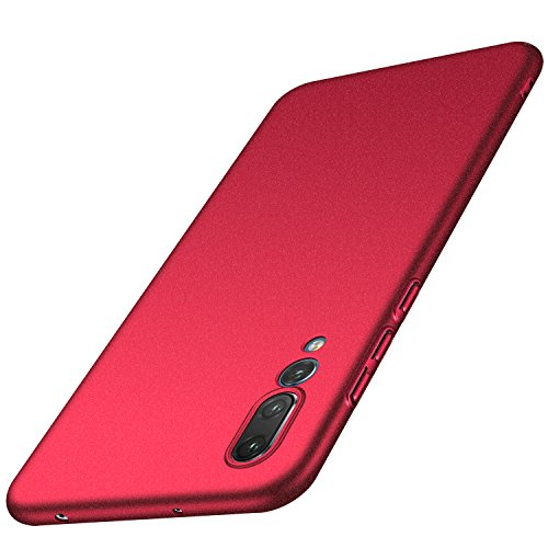 Anccer Huawei P20 Pro Case [Colorful Series] [Ultra-Thin] [Anti-Drop] Premium Material Slim Full Protection Cover Huawei P20 Pro 2018 (Smooth Red) by anccer