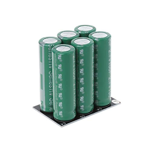 (huanban072 16V 20F Car Super Capacitor Ultracapacitor Engine Battery Starter Booster Car Super Capacitor (Double Row))