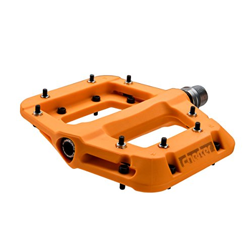 Bike Mountain Pedals 3 (RaceFace Chester Pedal Orange, One Size)