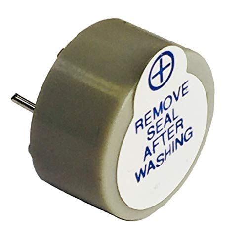 """Pack of 10 Buzzer 5V Gray/Grey Colored 0.866"""" Dia (22.00mm) 0.492"""" (12.50mm) Continous Sound Beep Continuously Alarm ABT-402-RC"""