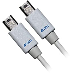 2m UltraAV Mini DisplayPort to DisplayPort Cable