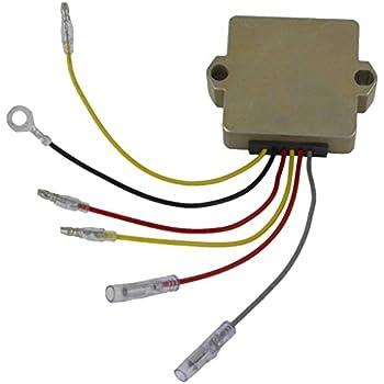 Amazon.com: Tuzliufi Voltage Regulator Rectifier Repl. Mercury ... on 1999 mercury 50 hp wiring diagram, 2000 mercury 50 hp wiring diagram, 2006 mercury 50 hp oil filter,
