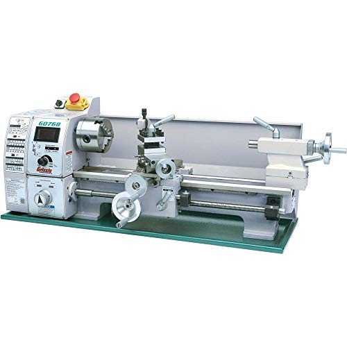"""Grizzly Industrial G0768-8"""" x 16"""" Variable-Speed Benchtop Lathe"""