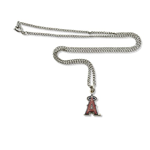 Team Necklace Logo - MLB Los Angeles Angels Team Logo Necklace