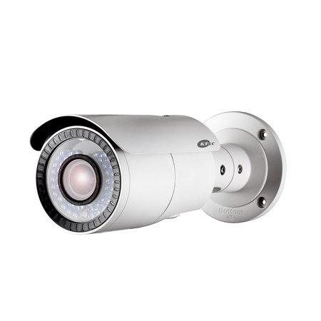 Focal Vari Ir Bullet (KEZ-C1BR28V12IR KT&C 2.8~12mm Varifocal 720P Outdoor IR Day/Night Bullet HD-TVI Security Camera 12VDC)