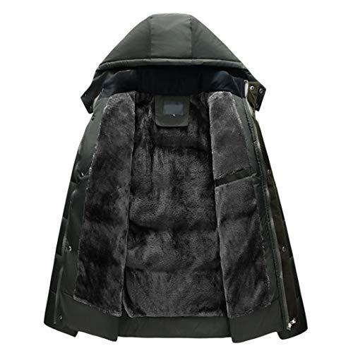 Outwear Cotone Adolescente Vestiti Uomini Indumenti Degli Cappotto Di Caldo Antivento Dell'uomo Invernale Modo Aiweijia Di q5gYwFIFH