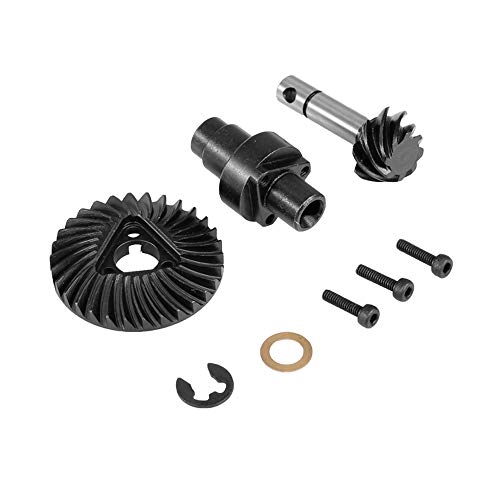 Goolsky 8T 30T Metal Bevel Gear Differential Main Gear Set for Front/ Rear Axle Axial SCXII 90046 90047 90059 90060 RC Car