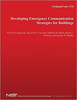 Book Technical Note 1733: Developing Emergency Communication Strategies for Buildings