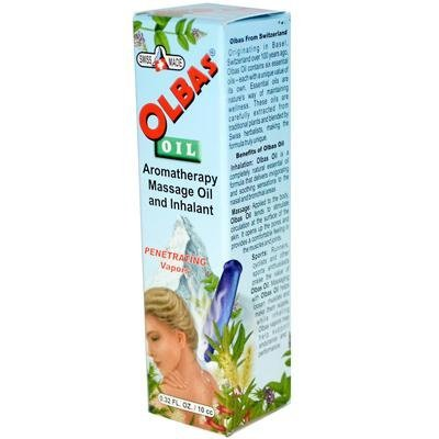 Olbas Therapeutic, Aromatherapy Inhalant and Massage Oil, 0.