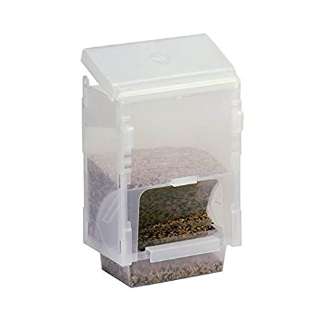 Rob Harvey Specialist Feeds Dispensador ahorro Mangiatoia 1 kg, para todas las jaulas y pajareras, 14 x 10 x 21 cm: Amazon.es: Productos para mascotas