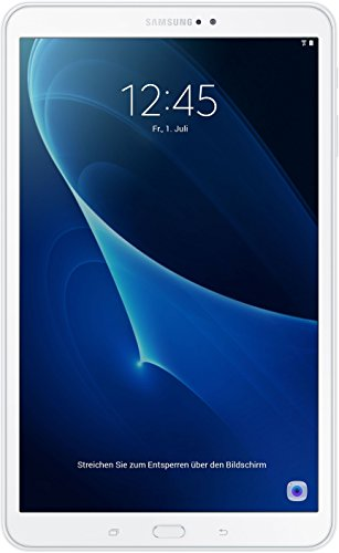 Samsung Galaxy Tab A (2016) T580N 25,54 cm (10,1 Zoll) Wi-Fi Tablet-PC (Octa-Core, 2GB RAM, 16GB eMMC, Android 6.0, neue Version) weiß