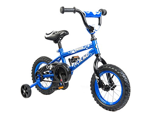 Tauki Kid Bike BMX Bike for Boys and Girls, 12 Inch, Blue, 9