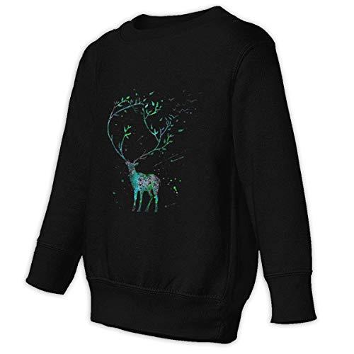 Goods Shops Toddler Juvenile Sweatshirt Long Horned Deer