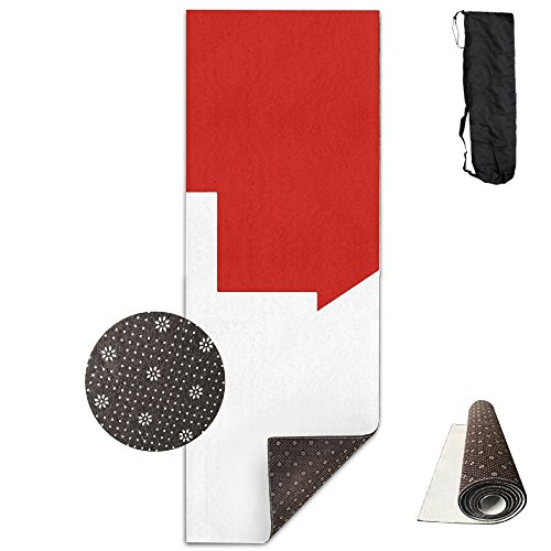 QNKUqz Flag Of Switzerland And Italy Deluxe Yoga Mat Aerobic Exercise Pilates by QNKUqz