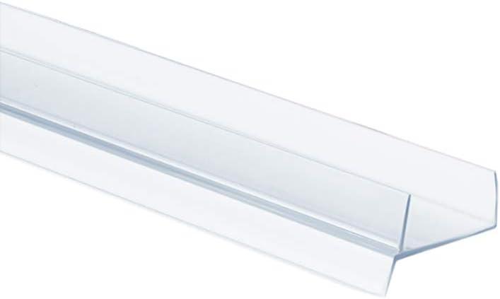 1 5m Pvc Bavette De Plinthe 18mm Transparent Cuisine Planche Mdf