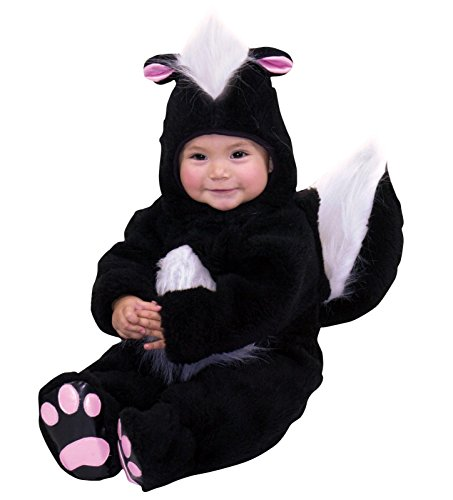 Skunk Costumes For Baby (Charades Costumes 82033I Velvet Panne Skunk Infant Costume)