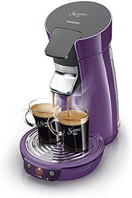 Philips Senseo Viva Café - Cafetera monodosis, color morado: Amazon.es: Hogar