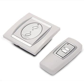 Gut gemocht Fernbedienung Schalter 2 Kanal Remote Lichtschalter Funkschalter DA91