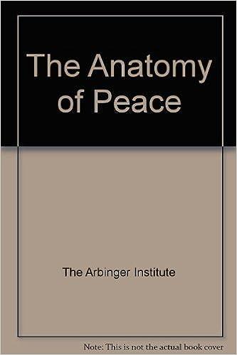 The Anatomy of Peace: Arbinger Institute: 9781576753347: Amazon.com ...