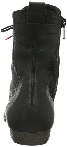 Think! Damen Ebbs Desert Boots, Schwarz (SZ/Kombi 09), 37 EU
