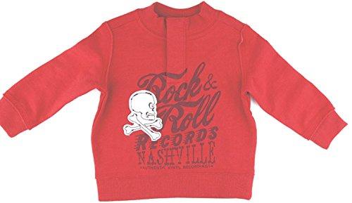 Cherokee Boys Sweater ('Rock & Roll Records Nashville' Skull & Bones Sweater Pullover, Boys (5T))
