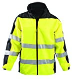 Occunomix SP-BRJ-Y5X Class 3 Speed Collection Premium Breathable Rain Jacket, 5X-Large, Yellow